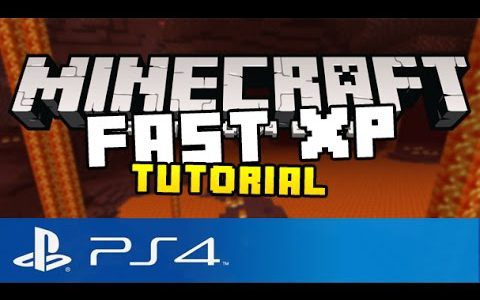 Minecraft PS4 – How to Gain Fast XP! ( Best Way to Level Up in Minecraft Playstation 4 Edition )【Play Games】