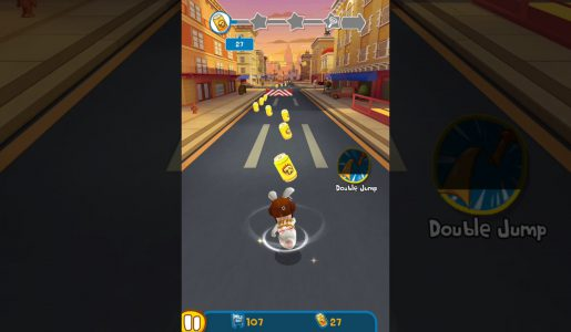 Rabbids Crazy Rush android gameplay review | Level 11 to Level 20