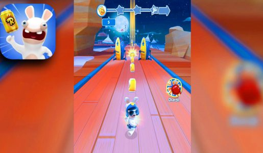 Rabbids Crazy Rush – Gameplay Trailer (iOS Android) FREE【Play Games】
