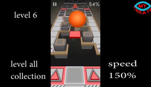 rolling sky levels 1~14 all fast 150% speed – 100% complete【Play Games】