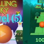 تختيم لعبة (5) Rolling Sky level【Play Games】