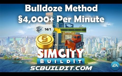 UPDATED! SimCity BuildIt Money Tip – §4,000 Per Minute【Play Games】