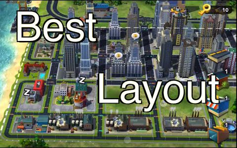 SimCity BuildIt: Best City Layout【Play Games】
