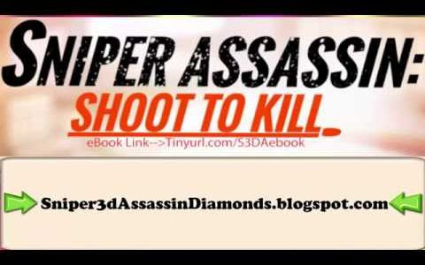 BEST Sniper 3D Assassin Shoot To Kill Hack DIAMONDS COINS iOS Android GAME【Play Games】