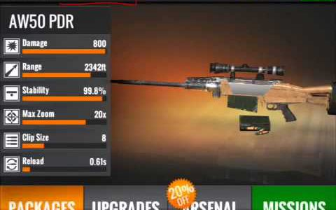 Sniper 3D assassin energy refill without jailbreak and without spending diamonds【Play Games】