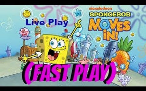 SpongeBob Moves In (Fast Play)【Play Games】