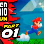 "Super Mario Run Let's Play – Part 1 – World 1, Stage 1-1, 1-2 | ""RUN, MARIO, RUN!""【Play Games】"