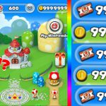 Super Mario Run CHEATS! GET COLORED TOADS AND TICKETS! 99999 COINS AND TICKETS!【Play Games】