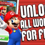 How To Unlock All SUPER MARIO RUN Worlds For FREE! Get Full Paid Levels Version 2017 (FAST & EASY)【Play Games】