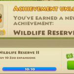 Township level 44 – Unlock achievement WILDLIFE RESERVE II【Play Games】