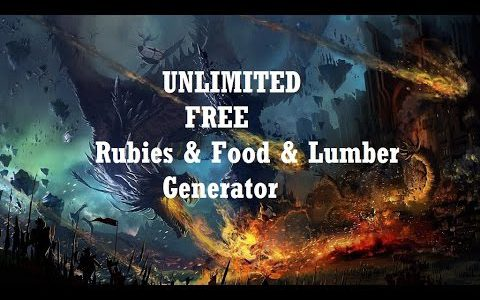 War Dragons Hack – How To Get Free Rubies & Food & Lumber [Tutorial]【Play Games】
