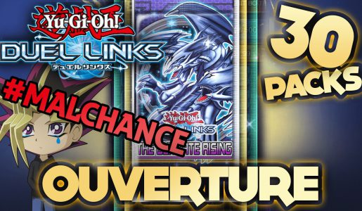 La PIRE Ouverture de 30 Boosters – Yu-Gi-Oh! Duel Links FR Walkthrough【Play Games】