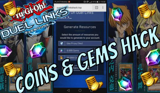 Yu Gi Oh Duel Links Hack – Free Gems & Coins (2017 Updated Cheats)【Play Games】