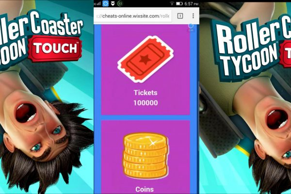 RollerCoaster Tycoon Touch | HACKED FREE GAMES VIDEOS