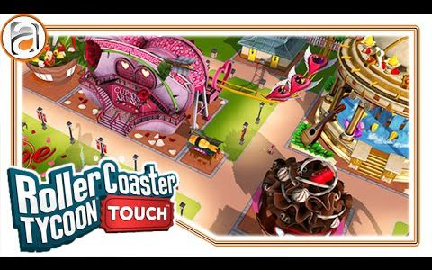 RollerCoaster Tycoon Touch – iOS iPad/iPhone App (By Atari) Gameplay [HD+] #02 Lets Play [DEUTSCH]【Play Games】