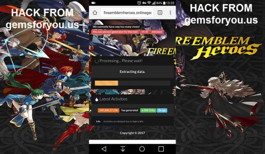 Fire Emblem Heroes Hack Unlimited Orbs Working On android ios【Play Games】
