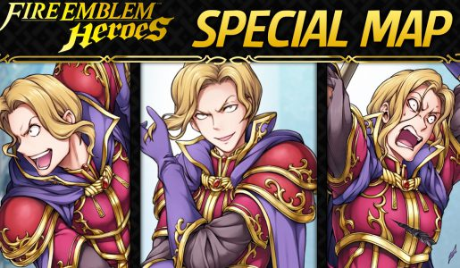 Fire Emblem Heroes (FEH) – SPECIAL Map: Wyvern General Narcian (iOS Android)【Gameplay】