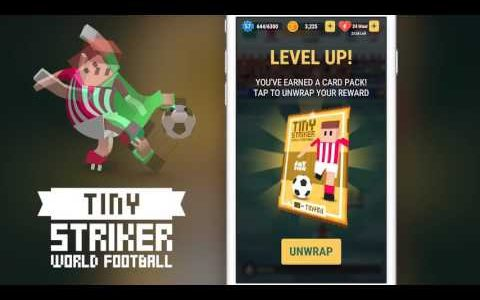Tiny Striker IOS Android Game Gameplay Trailer 2017   World Football   iOS Trailer【Play Games】