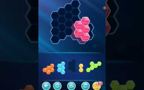 BLOCK! Hexa Puzzle! Basic Novice Level 66 Walkthrough【Play Games】