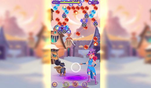 Poderes infinitos!! Bubble Witch 3 2017 (Hack Mod apk)【Play Games】
