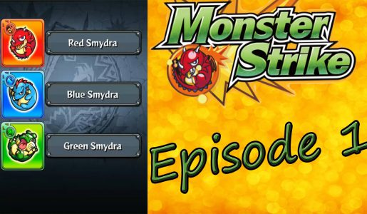 Monster Strike: Gameplay #1 Tutorial For Biginners【Play Games】