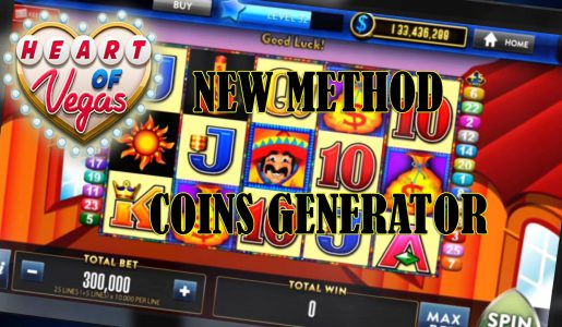 HEART OF VEGAS Slots Hack Cheats – How to get Free Coins[Android,iOS]