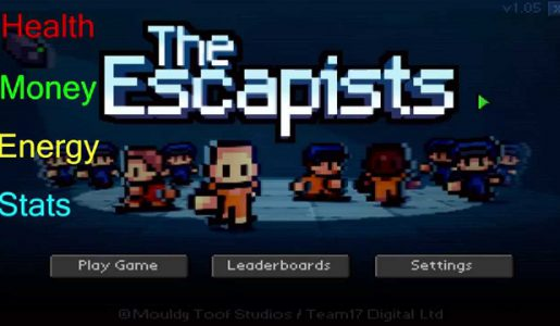 The Escapists hacks cheat several kinds【Play Games】