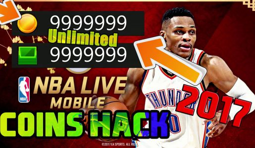 NBA LIVE Mobile Basketball  – Hack Cheat 17 Coins Glitch [Tutorial] Unlimited NBA Cash