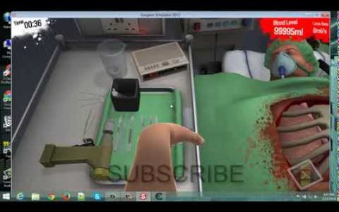 Surgeon Simulator How to hack infinite blood Cheat engine 6.3 HD