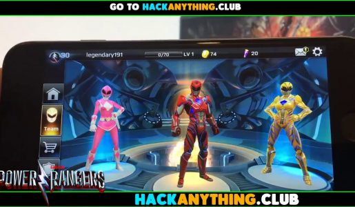 Power Rangers Legacy Wars(PRLW) Hack Cheats : Unlimited Power Coins and Crystals[Android iOS]