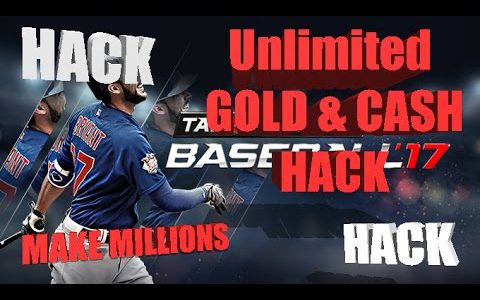 MLB Tap Sports Baseball 2017 Hack Cheats | Get Unlimited Cash & Gold Resources (Android,iOS)