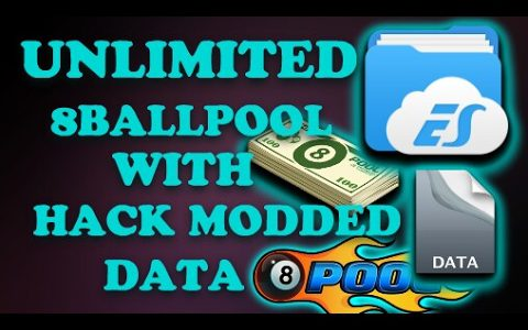 8 Ball Pool Hack Cheat – UNLIMITED WITH || MODDED DATA [100% Save Antiban No Root]