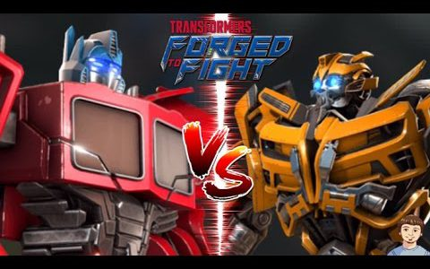 Optimus Prime VS Bumblebee | Transformers Forged to Fight Gameplay Commentary Walkthrough (iOS / Android)