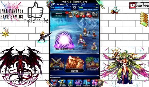 Final Fantasy Brave Exvius Hack Cheat 2.1.1 Mod [Español]