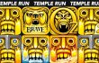 Temple Run VS Temple Run 2 VS Temple Run Oz VS Temple Run Brave | All Maps, Multiple Characters【Play Games】